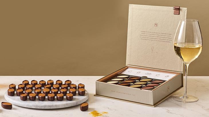 【ノイハウス】チョコレート王国ベルギー王室御用達ショコラティエの鮮烈なシャンパンペアリング