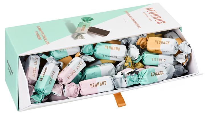 冷やしても美味しい新食感チョコ【アムゼット】ベルギーチョコレートのノイハウス